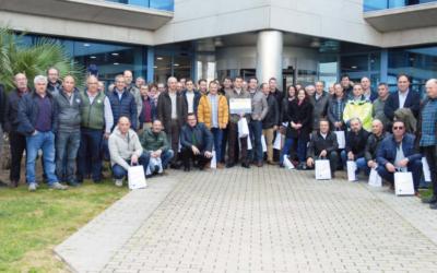 Cooperativas del Grupo AN visitan el Puerto de Tarragona