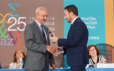 La UPNA entrega el III Premio Entidad Distinguida a Grupo AN