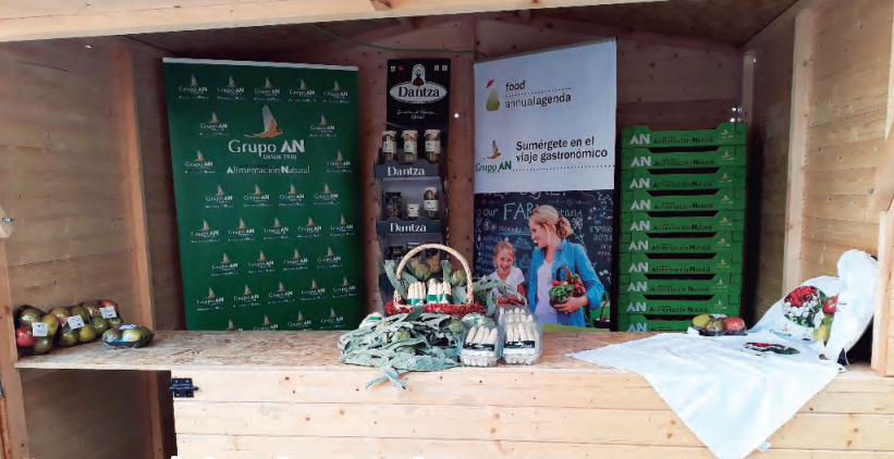 El Grupo AN en la Semana de la Verdura como socio de un proyecto del EIT Food