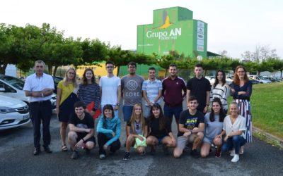El Grupo AN recibe a un grupo de estudiantes de la UPNA que participan en un concurso internacional