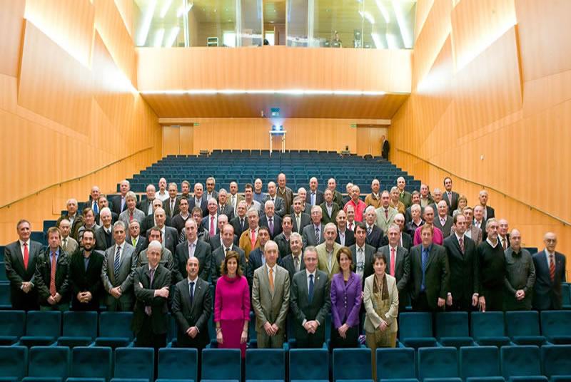 El Ministerio y el Gobierno Foral alaban los 100 años del Grupo AN