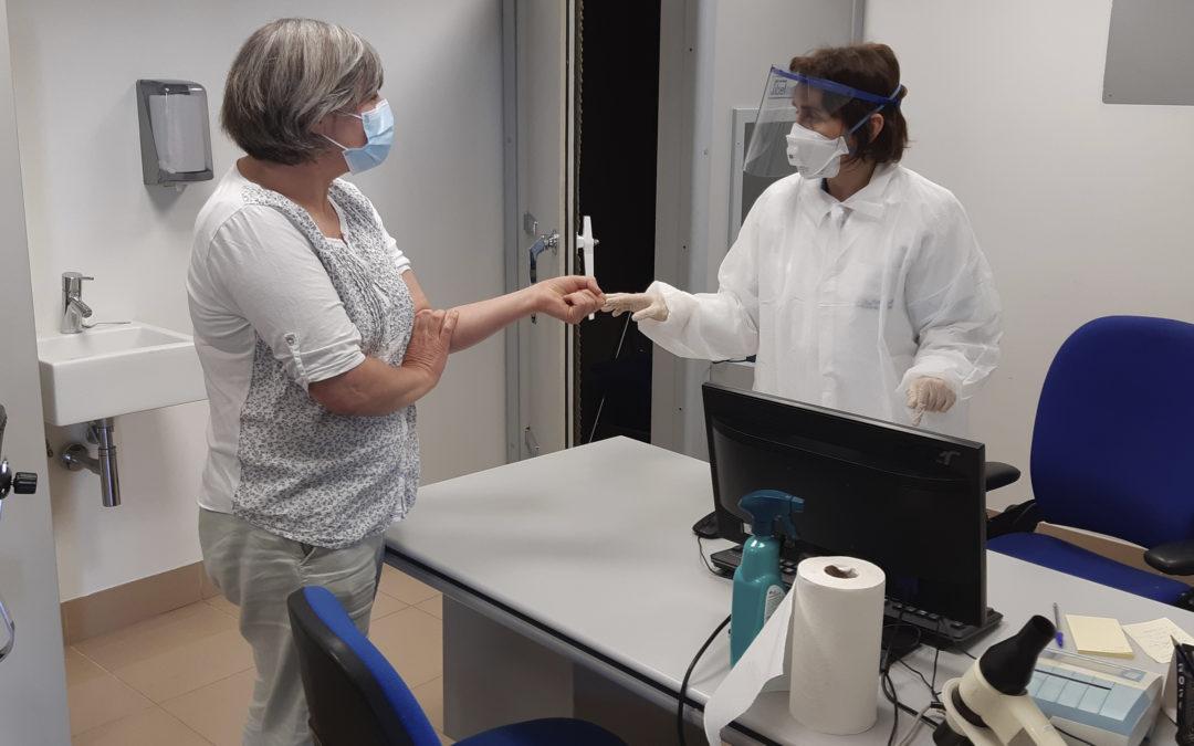Comienzan los test de coronavirus en el Grupo AN