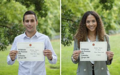 Premio Cátedra Grupo AN ex aequo a Paloma Azcona y Fermín Tabar