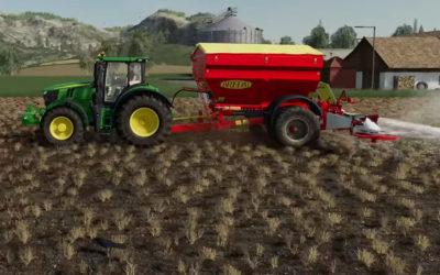 Nuevo módulo del videojuego Farming Simulator