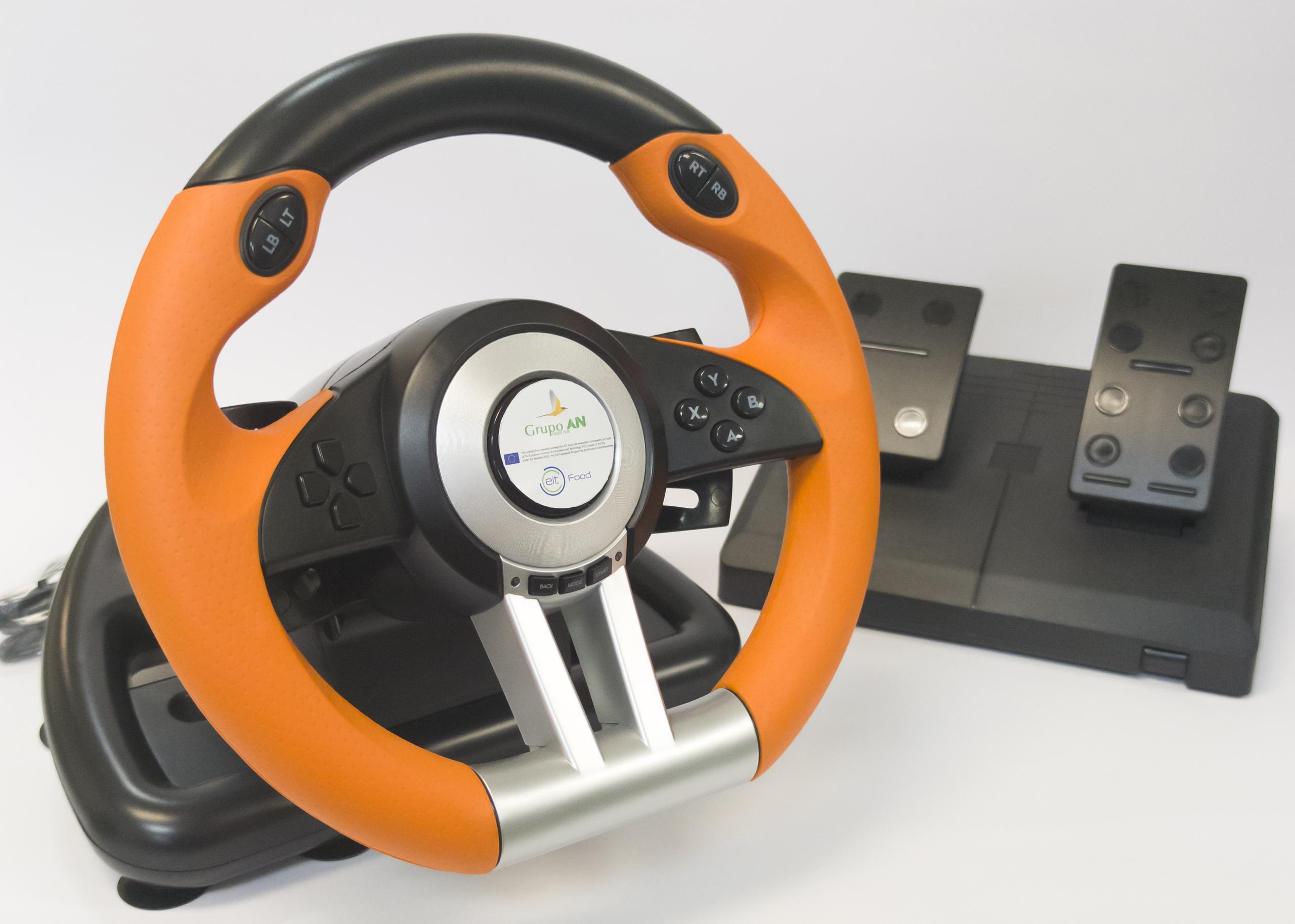 Imagen del volante enviado a los participantes, personalizado por el Grupo AN