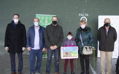 Nora Laborda Landa, ganadora del Concurso de Pintura Rural Infantil Grupo AN – Fertiberia