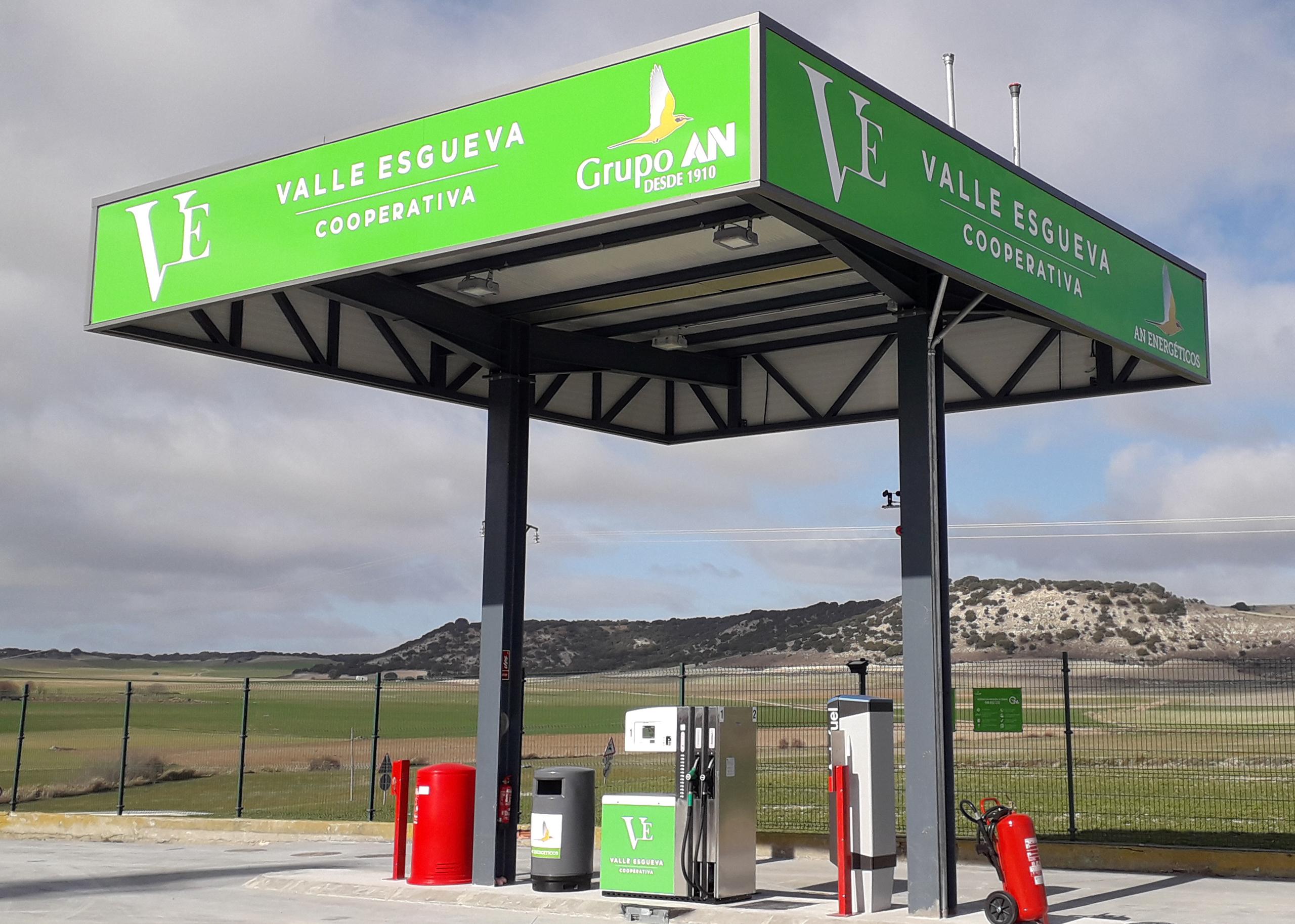Nueva Gasolinera AN Energeticos Cooperativa Valle de Esgueva