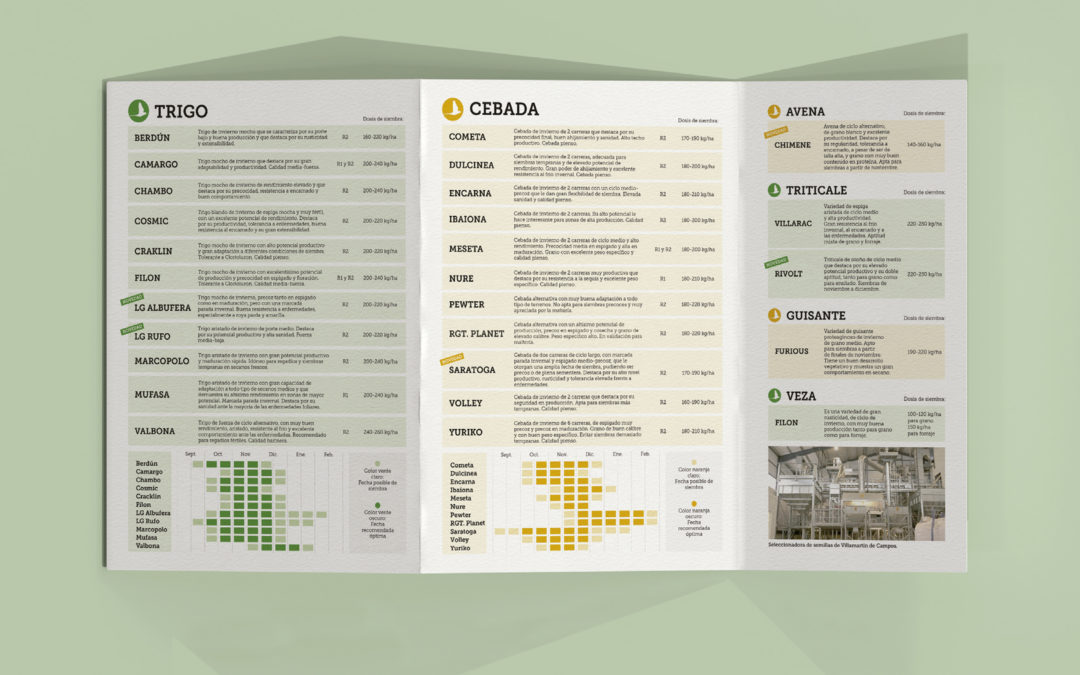 Nuevo catálogo de semilla certificada